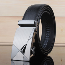 Mens Leather Belts Fashion Leisure Men Brand Belt Luxury  Fashion Personality  Mens Belt For Jeans  Automatic Buckle Belt