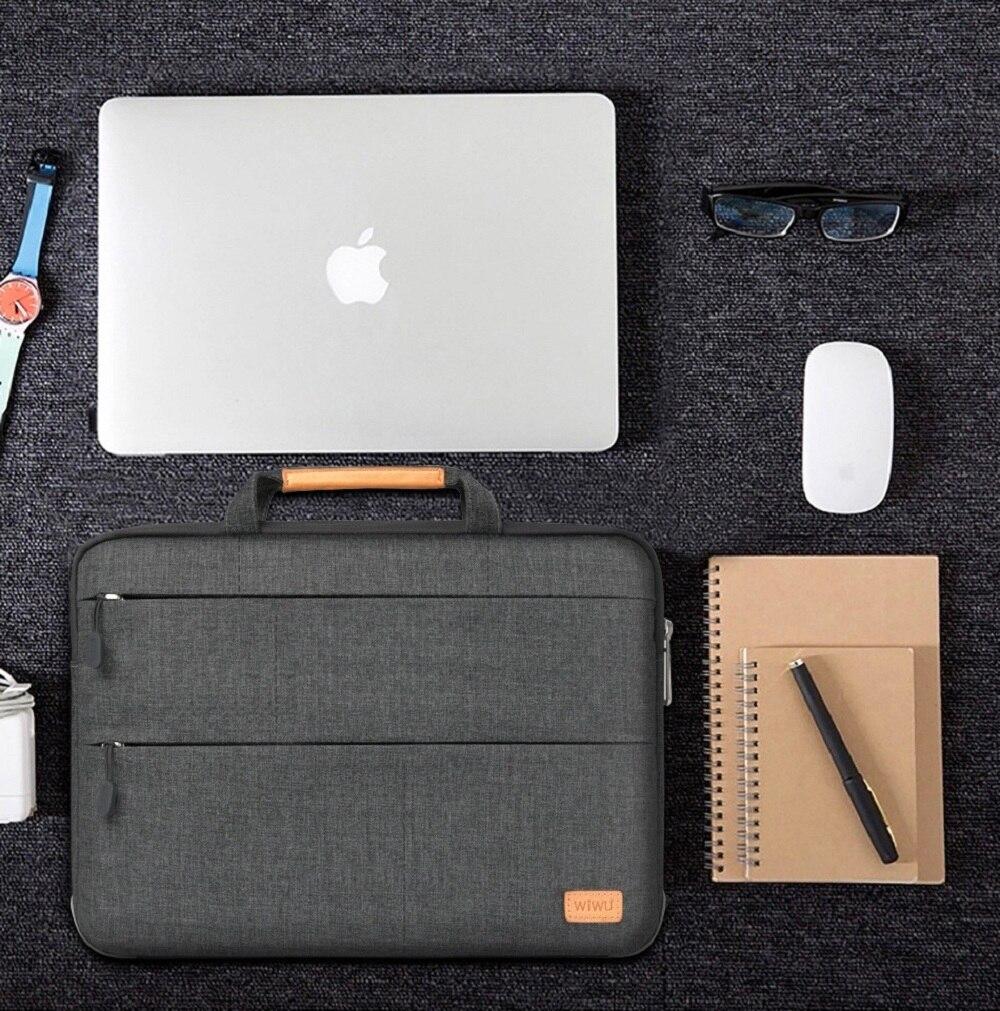 Nouvelle pochette d'ordinateur/étui pour Dell HP Macbook Surface pro 6/5/4 Portable sac à main pour ordinateur Portable Air Pro 11 12 13 14 15.6
