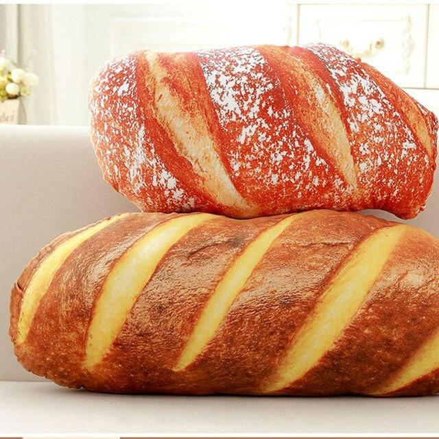 creative simulation pain steak coussin alimentaire pizza en peluche oreiller textiles de maison decoratif oreiller