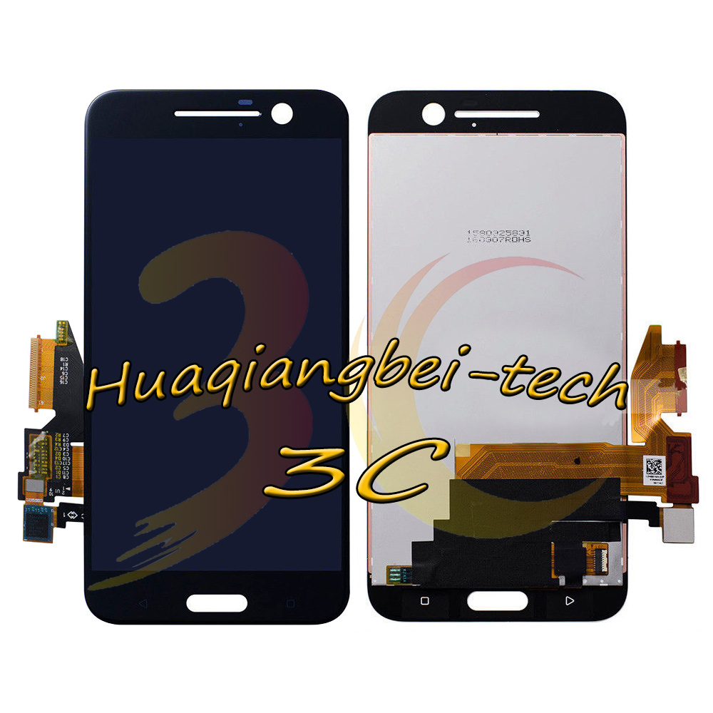Image 2 - 5.2'' New For HTC 10 One M10 M10H Full LCD DIsplay + Touch Screen Digitizer Assembly Black / White 100% Tested + Tracking-in Mobile Phone LCD Screens from Cellphones & Telecommunications