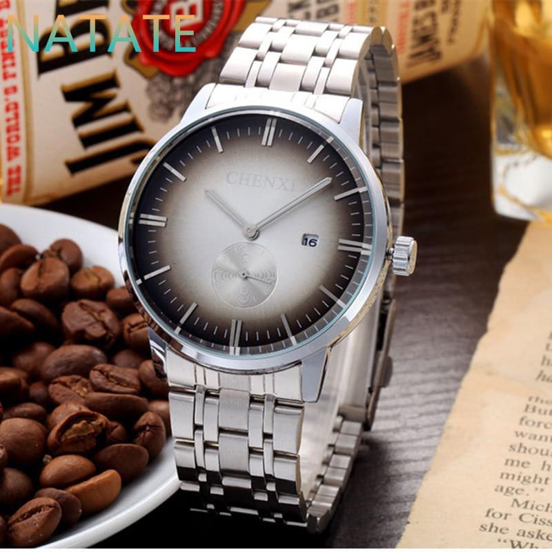 NATATE Fashion Men calendar Casual Business CHENXI Luxury brand Quartz Sports Watch Military analog running wrist