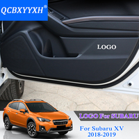 QCBXYYXH Car Styling Protector Side Edge Protection Pad Protected Anti Kick Door Mats Cover For Subaru