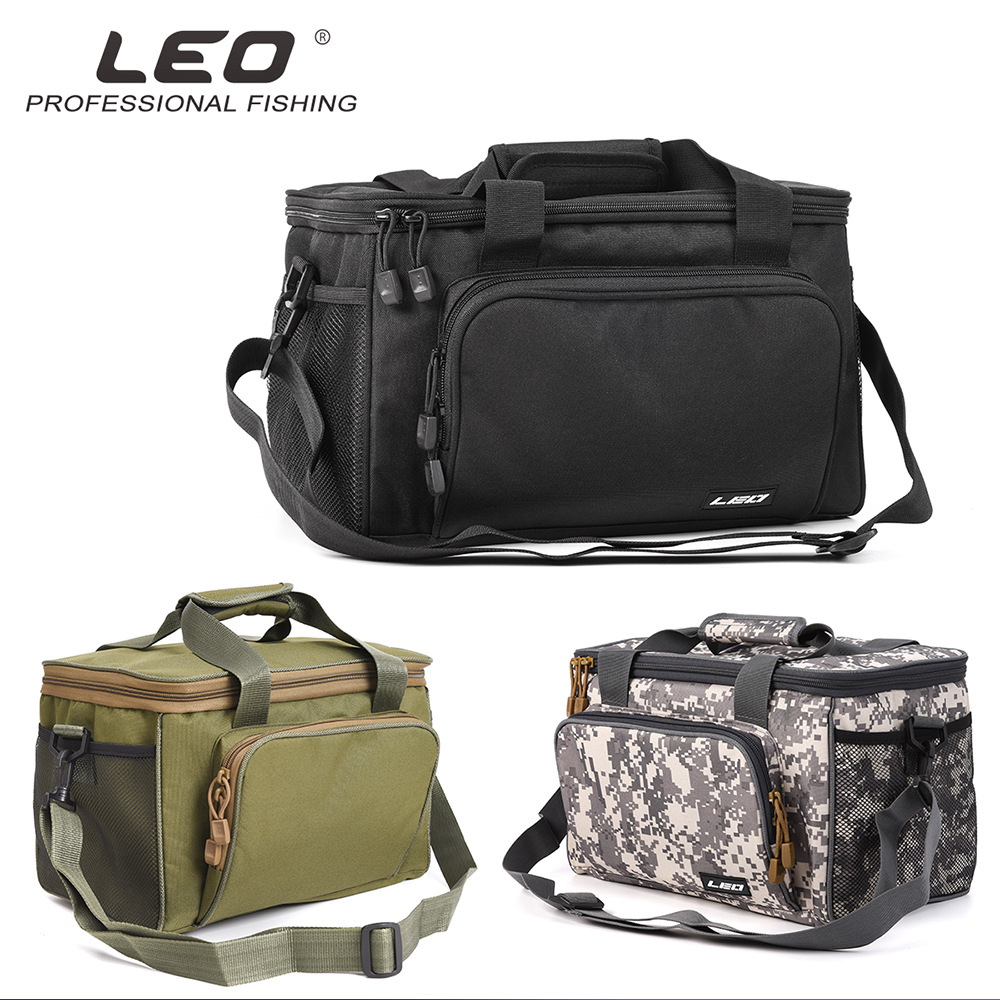 Large Capacity Fishing Bag Portable Multifunctional Tackle 36*22*23cm Multipurpose Outdoor Hiking Camping Bolsa De Pesca