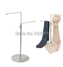 Подкормки магазин приспособление украшения металла регулируемые шарфы крюк галстук стеллаж для рабочего стола Показаны Стенд