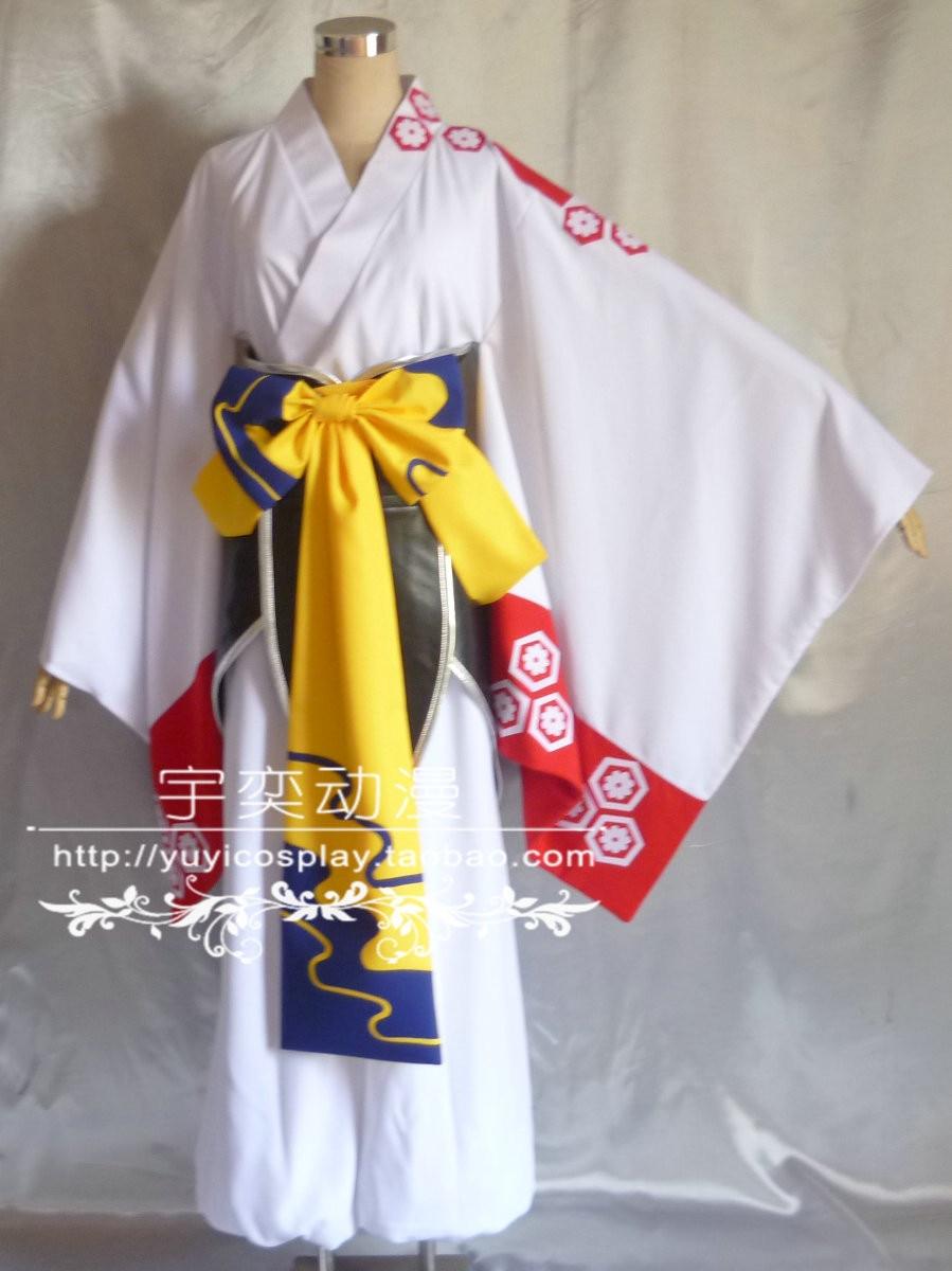 Anime Inuyasha Sesshoumaru Cosplay Costume Free shipping