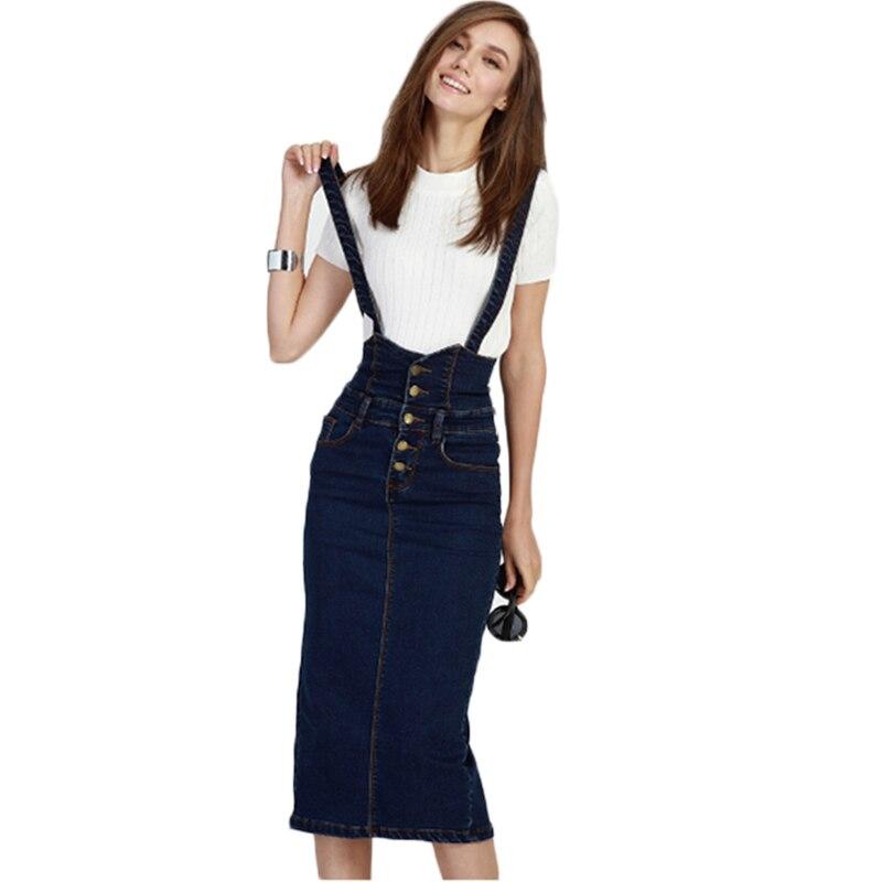 Online Get Cheap Women Midi Jeans Skirt Plus Size -Aliexpress.com ...
