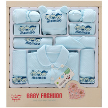 17 Pcs/Set Infant Baby Girl Winter Clothes Sets Thick Cotton Newborn Baby Clothing Set New Born Gift without Gift Box emotion moms newborn baby set 0 3m infant clothing suit cotton newborn baby boy girl clothes winter autumn without box 22pcs set