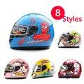 De alta calidad para niños kids casco de la motocicleta de la cara llena niños cálido invierno casco 205