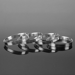 Image 3 - AUTO 4 x Universal Aluminum Hub Centric Ring Wheel Spacer Set 74.1mm O/D 72.6mm I/D