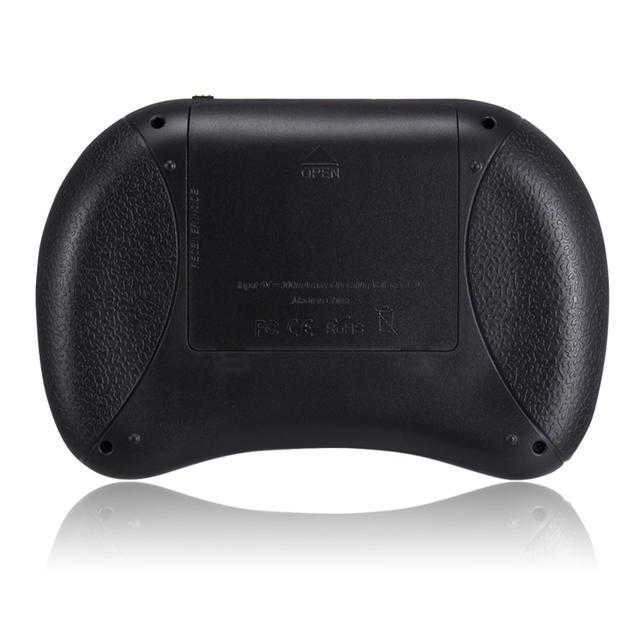 Black Wireless Mini Keyboard with Air Mouse Function