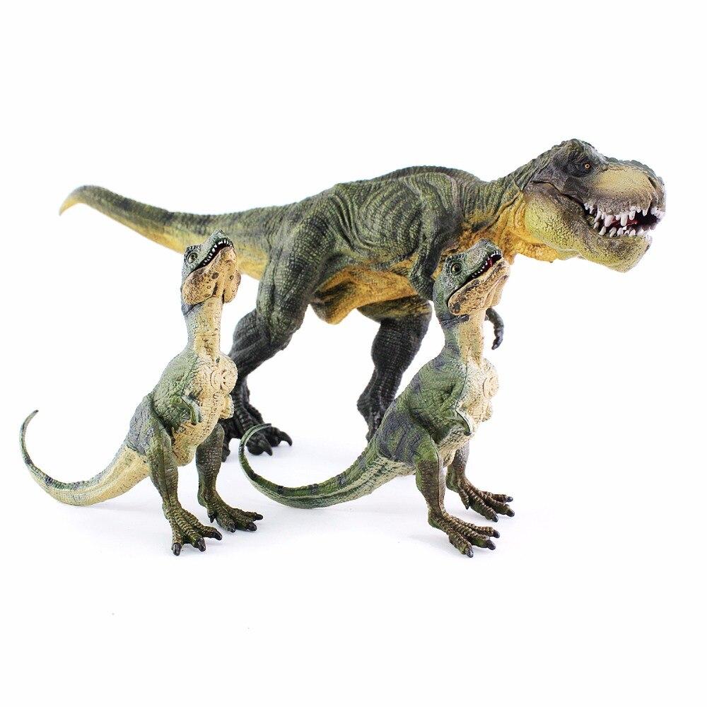 Wiben 3 шт./лот Юрского периода Тиранозавр Рекс T-Rex Dinosaur Игрушечные лошадки животных модель коллекция обучения и образования детей подарок