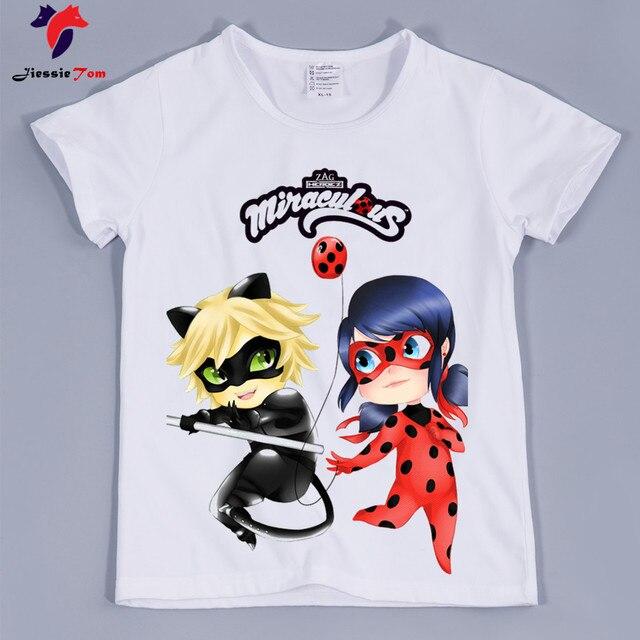 64a586419755a Baby Girl Miraculous Ladybug Cute Cartoon Tshirts Kid Girl Anime Funny Tee  Shirt Baby Clothing Children Tee