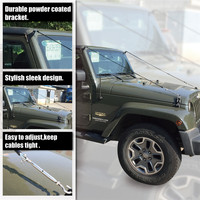 For Jeep Wrangler JK 2007 2017 Limb Riser Kit Through The Jungle Protector Obstacle Eliminate Rope