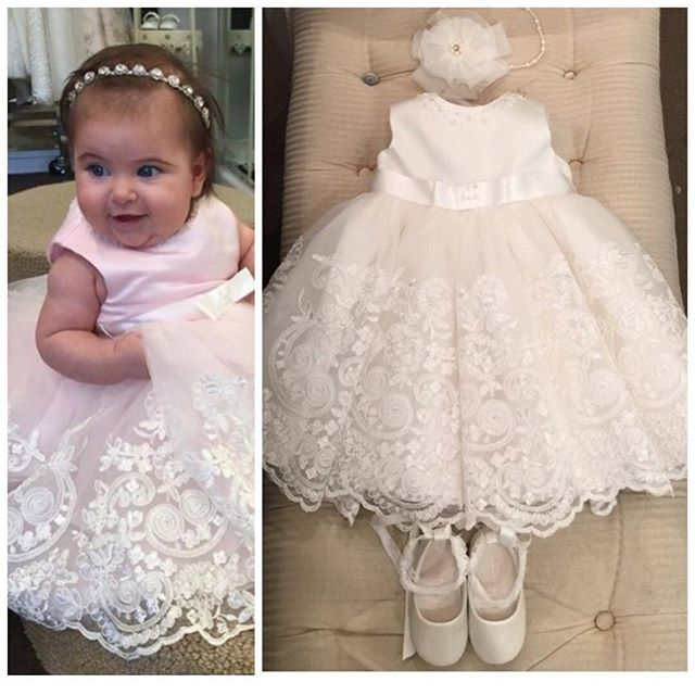 Popular Girls Christening Dresses-Buy Cheap Girls Christening ...