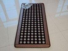 Новая распродажа Турмалин Нефритовый камень массажная подушка термальный диван матрас мягкий нефритовый коврик Инфракрасный нагревательный коврик 70X160 см Бесплатная доставка