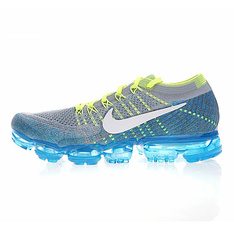 new concept 44ac2 499a8 Original NIKE aire VAPORMAX FLYKNIT 2,0 hombres zapatos transpirable  resistente atlético de corte bajo cómodo deportes al aire libre, zapatillas  de ...