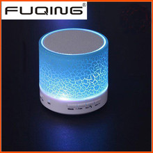 5 color light Wireless Bluetooth Speaker sound box Subwoofer support FM Radio TF card USB for mobile Iphone Notebook Laptop PC.