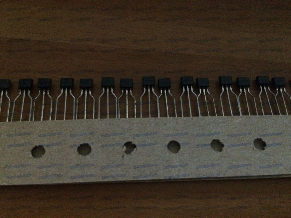 100PCSlot 2SA821STPQ 2SA821S 2SA821 A821  TO92S Transistor