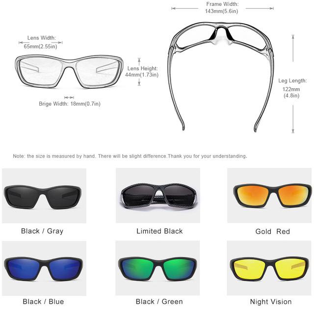 Gafas de moda polarizadas de lujo vintage