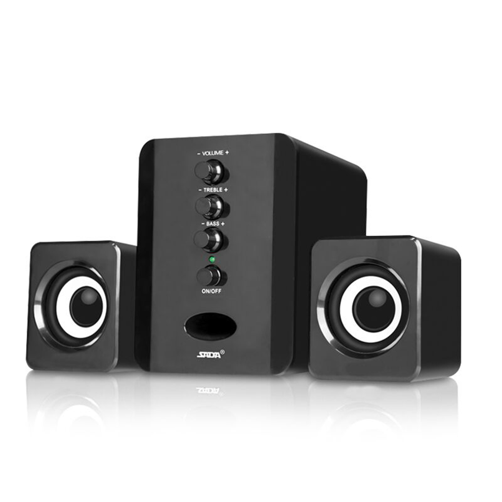 Analytical Usb 2.1 Wired Mini Computer Speakers 3w Bass Stereo Pc Speaker Aux 3.5mm Combination Speakers For Laptop Desktop Smart Phone Mp3