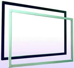 Promotion! 50 IR touch screen without glass, use for LED/LCD , USB connector, 2 touch points Multi IR touch panel frame - 2