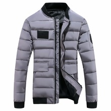 Fashion Coat Padded Quilted Warm Male Jackets Autumn Winter Parka Men Jacket Coat Outerwear Male costume