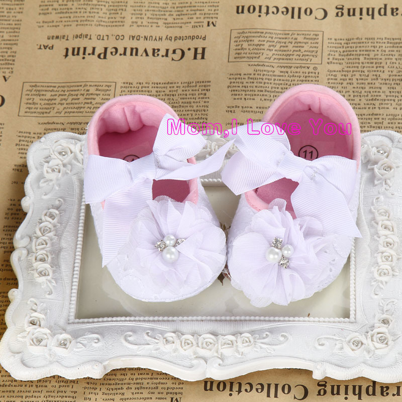 f59d946985973 US $7.3 |Cheap Baby Girl Flower Shoes,diamond baby boots,baby  ballerina,girls baptismal shoe,soft sole baby shoes-in First Walkers from  Mother & Kids ...