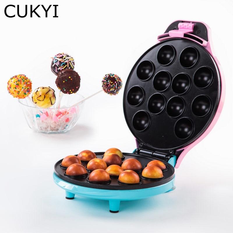 CUKYI леденец торт машина поп-торт чайник с 12 торт поп Ёмкость мини Babycakes чайник Осьминог яичный салат мяч чайник