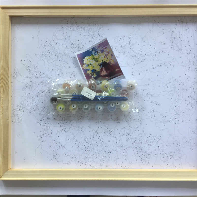 الطلاء بواسطة عدد ، مجردة الصورة ، مارلين مونرو ، قماش اللوحة التلوين بالأرقام