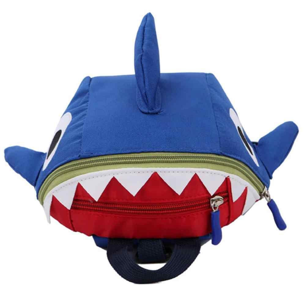 Детский Школьный рюкзак унисекс, Акула, рюкзак в форме животного, анти-потеря, школьные сумки, Маленький милый рюкзак для девочек и мальчиков, детский рюкзак