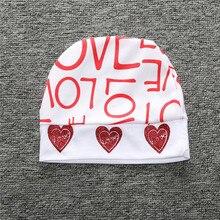 Valentine's Day Baby Girls Clothing Set Long Sleeve White Heart Bodysuit Harm Pants Hat 3pcs Toddler Kids Clothes Letter Print