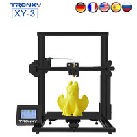 TRONXY XY 3 3D Printer Semi Assembled with Filament Sensor and Power Resume All Metal Frame LCD Touch Screen Upgrade Heat Bed