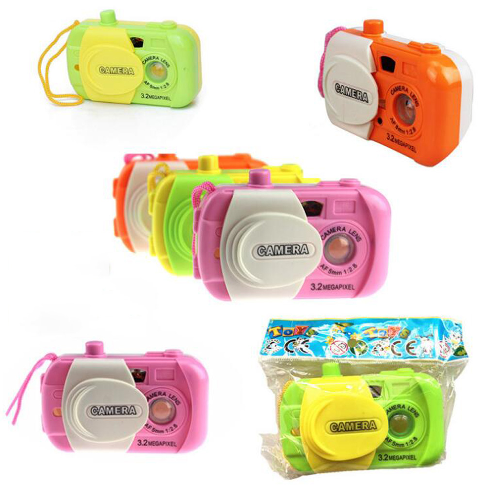 Camera Toy Projection Simulation Kids Digital Camera Toy Take Photo Children Educational Plastic Gift For Baby
