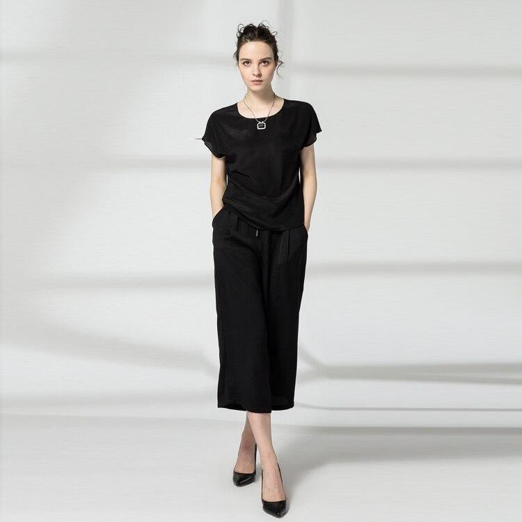 blusas opaco Desigual Tops coreana camisa Natural de seda blanca Venta verano mujer crepé nuevo moda 100 pura camisa otoño wSfqgI6