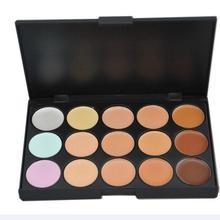 UCANBE Brand Professional 15 Colors Concealer Palette Camouflage Facial Concealer Palettes Neutral Contour Cream Makeup set