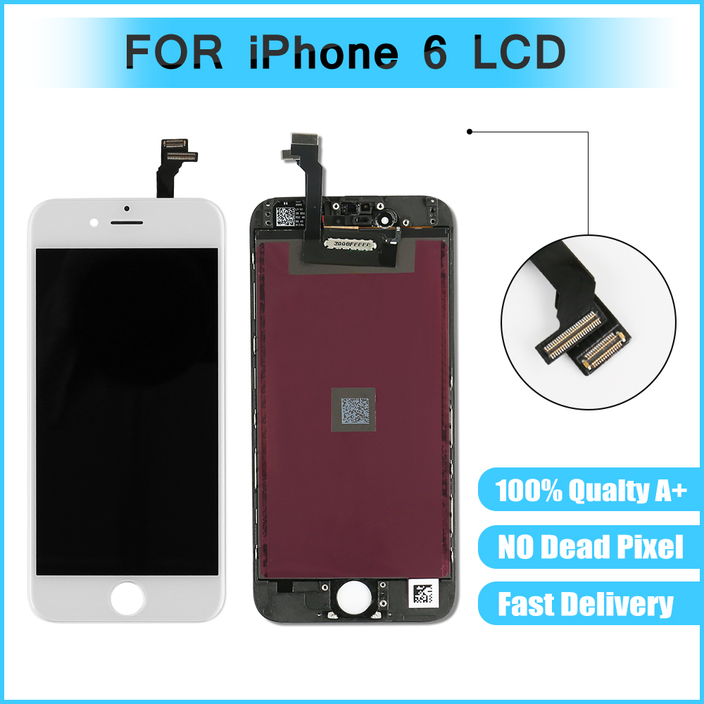Lcd-Display Touch IPhone 6 Digitizer Assembly For With 200pcs/Lot