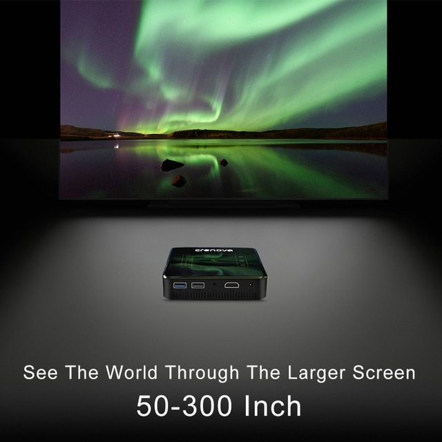 DLP Projector Full HD 4K With Android 7.1 Bluetooth