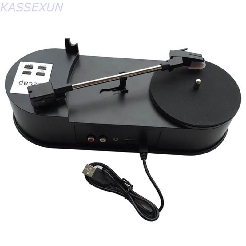 Vinyl turntable to mp3 converter,convert vinyl turntable to mp3 save in USB Flash disk directly, no pc required Free shipping 2017 new cassette player converter convert old cassette to mp3 save in u flash disk directly no pc required free shipping