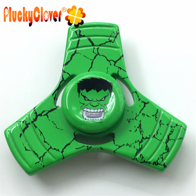 1 pc Hulk Fid Spinner Metal Avenger Super Hero Tri spinner