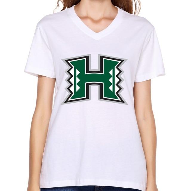 Hot sale University Of Hawaii At Manoa Hawaii Warriors Logo shirts sport  cotton boys boss t shirt for boyfriends e96efcaff