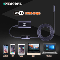 Antscope 8mm Lens 720P Android IOS Wifi Endoscope With 1m 2m 3 5m 5m Soft Wire