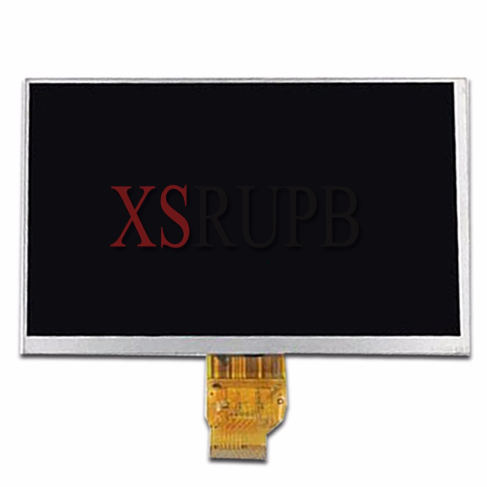 New 7 Inch 40pin HGMF0701684003a1 AOTOM LCD Display Planel Screen 163*97 Free Shipping