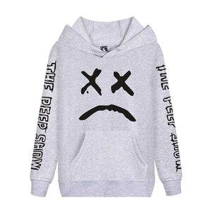 Image 3 - Cap&Mask as gifts Lil Peep hoodies men women boy girl sweatshirts hip hop Rapper Bboy DJ dancer DJ hooded jacket tracksuits coat