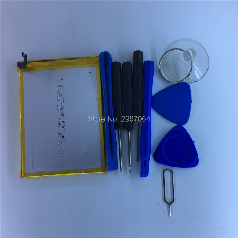 Mobile Phone Battery Vernee Mix 2 Battery 4200mAh Original Battery Give Disassemble Tool UHANS Mobile Accessories
