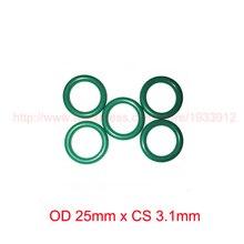 OD 25mm x CS 3.1mm viton fkm rubber seal o ring oring o-ring od 26mm x cs 3 1mm viton fkm rubber seal o ring oring o ring gasket