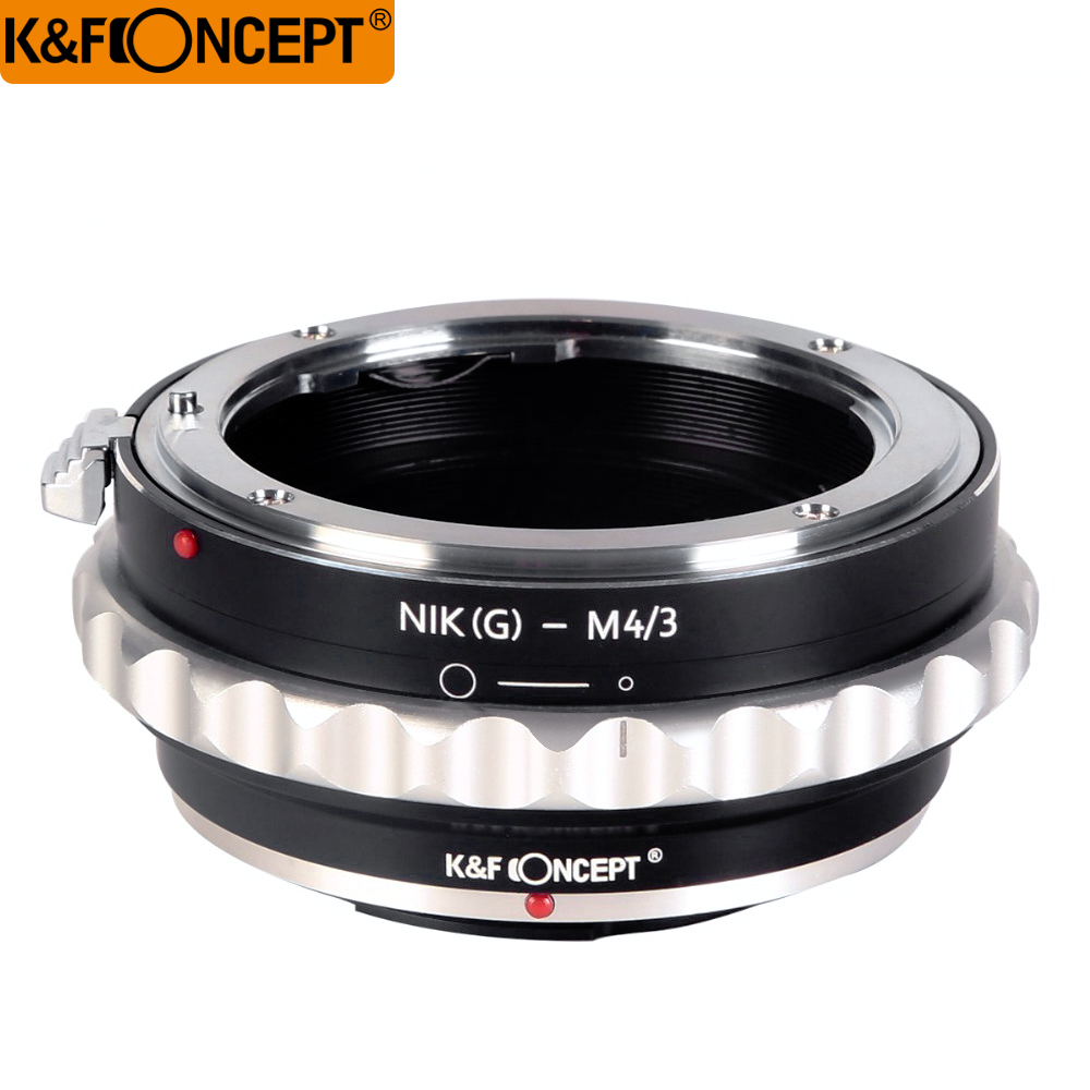 K&F CONCEPT For Nikon(G)-NEX Camera Lens Mount Adapter Ring For Nikon AI(G) Lens to for Micro 4/3 Camera For Olympus/Panasonnic
