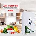 2016 New Arrival Portátil Purificador de Ar Gerador de Ozônio Esterilizador Multifuncional Legumes Fruta Purificar Purificador de Ar para Casa