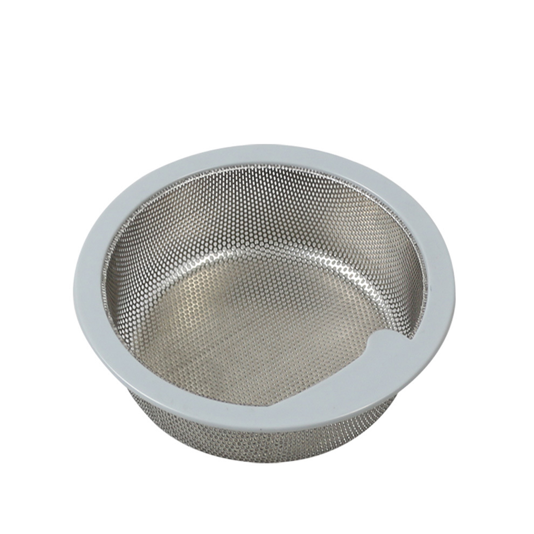 Stainless Steel Hair Stoppers Catchers Sink Filter Hair Colanders Strainers Filter Round Kitchen Drain Bathroom Sink Accessories
