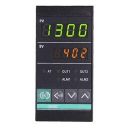 Termocontrolador de horno regulador de temperatura Digital controlador de temperatura PID CH402 salida de relé, Vertical 48*96mm