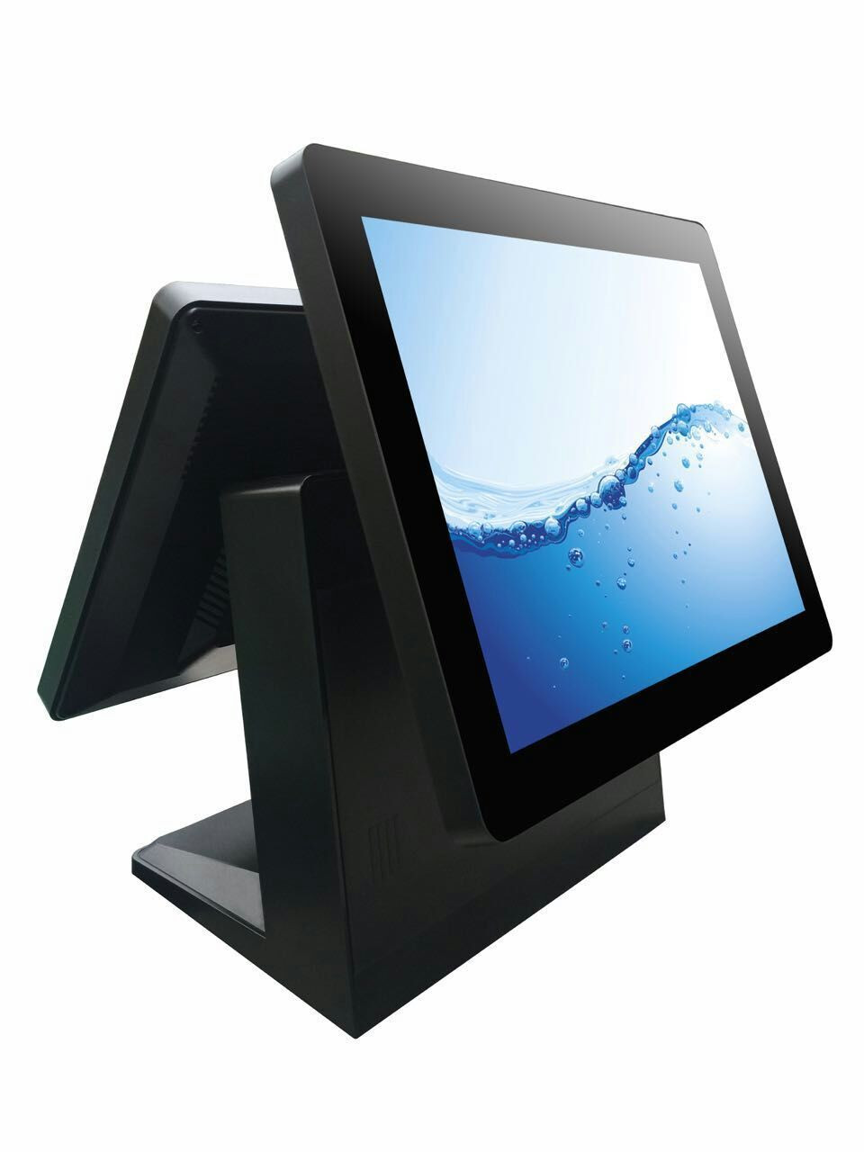 Contact Supplier  Chat Now! Factory Touch Android Pos System 15.6 Inch Dual Screen Cash Register Wifi Retail
